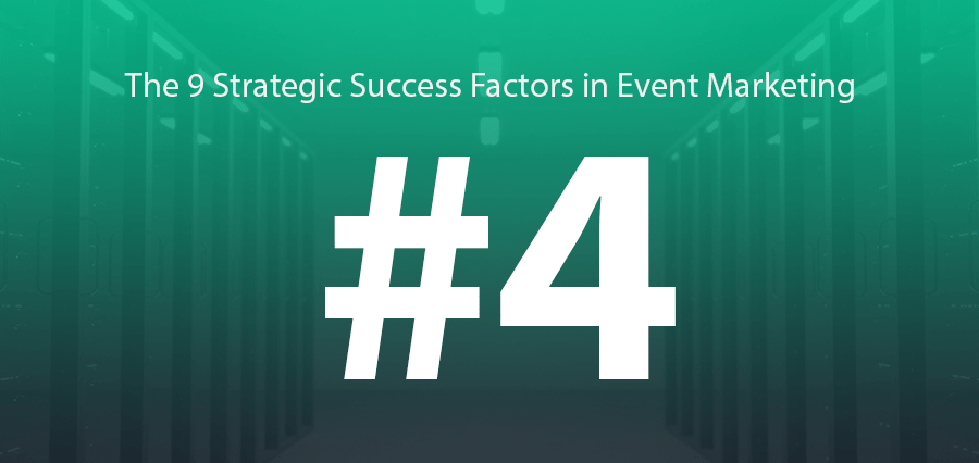 #4 | The Big (Strategic) Issue:  Your Event Marketing Database