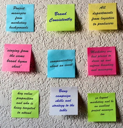 Event Marketing Project Management (Conferences & Exhibitions)